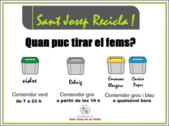 sant josep recicla horaris