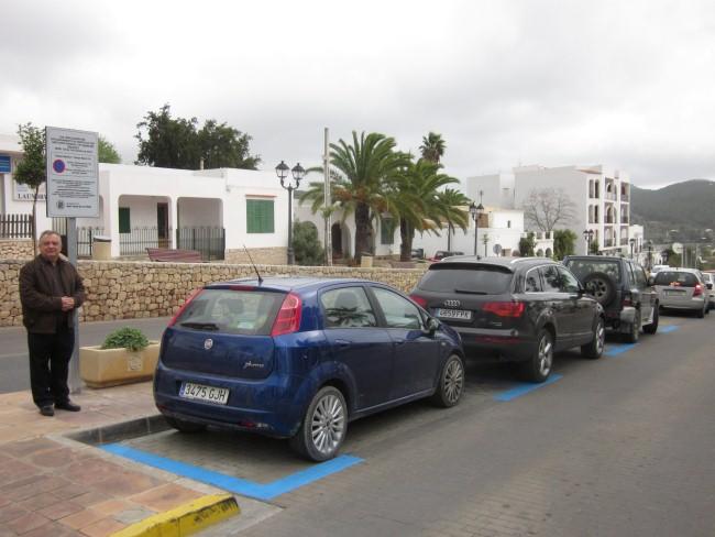 Nueva zona azul de aparcamiento en sant josep ajuntament for Oficina zona azul ibiza