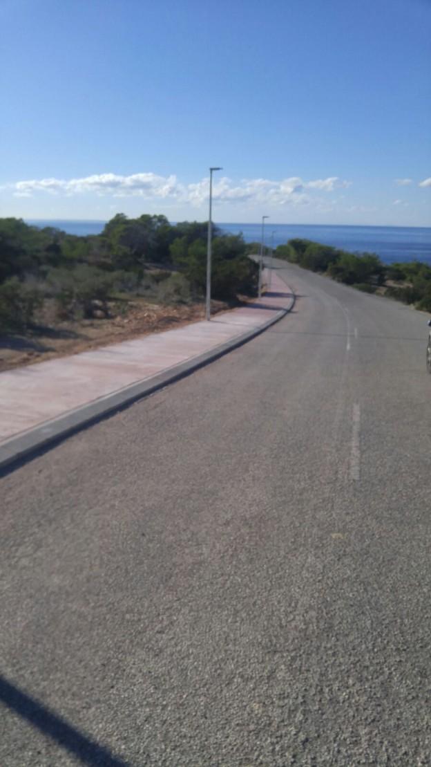 Carril bici Cala Vedella 1