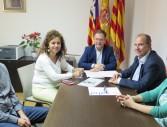 foto reunió firma conveni UBS Cala de Bou