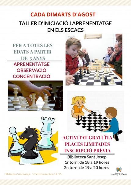 Cartell escacs
