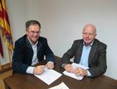 Firma convenia Badia Portmany alcaldes
